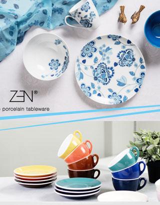 Zen Procelain Tableware